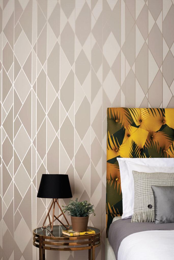 Papeles Pintados Interiorismo Geometrico