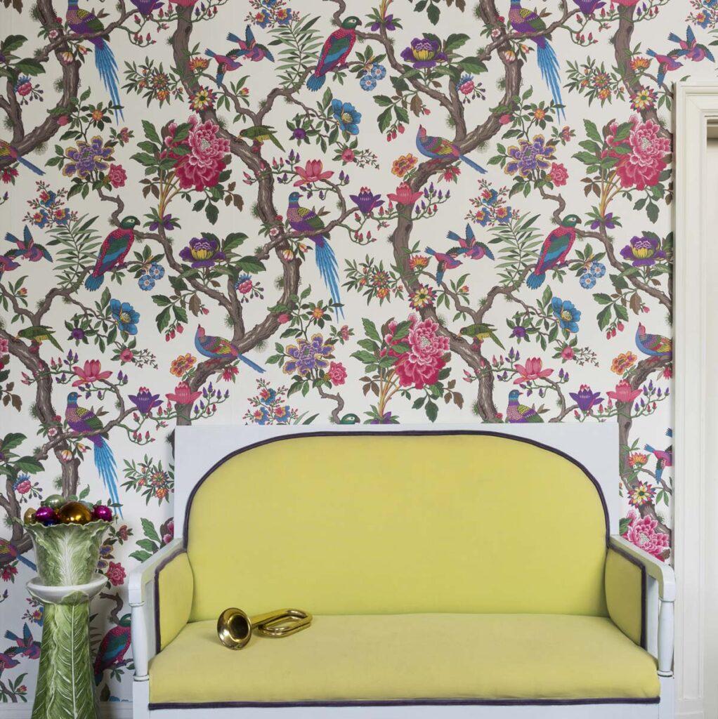 Papel Pintado Interiorismo Vintage